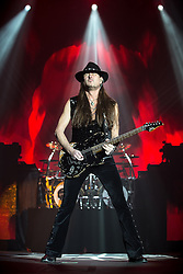 © Licensed to London News Pictures . 15/12/2015 . Manchester , UK . REB BEACH . Whitesnake perform at the Manchester Arena . Photo credit : LNP