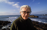 James Lovelock photographed near Bude, Cornwall, England. He is known as the father of the Gaia theory.