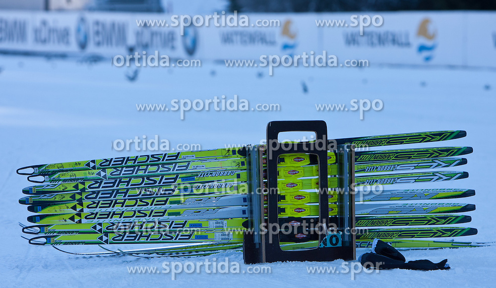 05.01.2011, Nordic Arena, Toblach, ITA, FIS Cross Country, Tour de Ski, Qualifikation Sprint Women and Men, im Bild feature mit Fischer Langlaufski, Fischer Cross Country Ski. EXPA Pictures © 2011, PhotoCredit: EXPA/ J. Groder