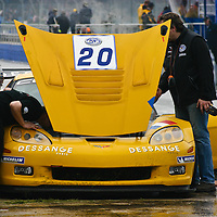 The #20 Chevrolet Corvette C6 Z06.R GT3 (Callaway) of Benjamin Dessange/Marc Sourd did not fair as well, posting a DNF in Race 1, but finishing 28th in Race 2 (Silverstone 6h, 2006)