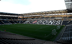A general view of Stadium MK, home to Milton Keynes Dons - Mandatory by-line: Robbie Stephenson/JMP - 18/10/2016 - FOOTBALL - Stadium MK - Milton Keynes, England - Milton Keynes Dons v Bristol Rovers - Sky Bet League One