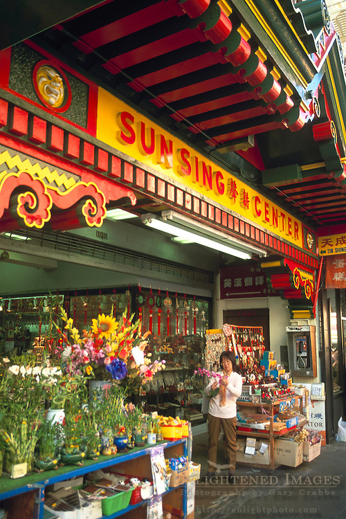 Shops in Chinatown, San Francisco, California