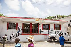 Weekes Bakery & Deli, a Savan favorite.  The Virgin Islands Economic Development Association Enterprise & Commercial Zone Commission hosts a historical tour through the Savan (Savanne) neighborhood.   St. Thomas, US Virgin Islands.  9 July 2015.  © Aisha-Zakiya Boyd
