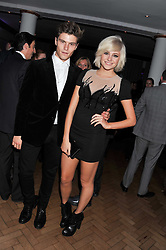 PIXIE LOTT and OLIVER CHESHIRE at the Quintessentially Awards at Number One Marylebone, London on 28th September 2011.