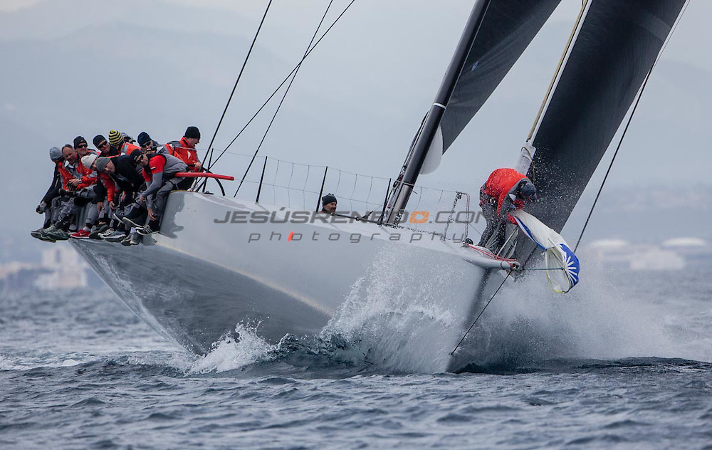 "Maxi 72 ""MOMO "" training in Palma for the 2015 season .©jesusrenedo"