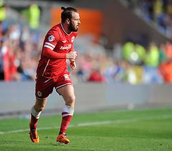 Cardiff City's John Brayford- Photo mandatory by-line: Alex James/JMP - Mobile: 07966 386802 30/08/2014 - SPORT - FOOTBALL - Cardiff - Cardiff City stadium - Cardiff City  v Norwich City - Barclays Premier League