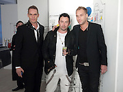 KETHER PARKE; ROBERT KEITH; CALUM BEST, BROWN'S 40TH ANNIVERSARY DINner. Regent Loft and Penthouses. Marshall St. London. 13 May 2010. -DO NOT ARCHIVE-© Copyright Photograph by Dafydd Jones. 248 Clapham Rd. London SW9 0PZ. Tel 0207 820 0771. www.dafjones.com.