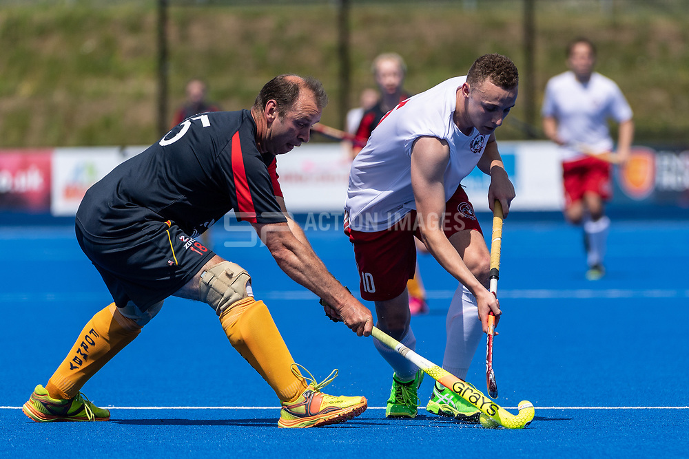 Formby v Marlow - Mixed Championships Tier 2 Final, Lee Valley Hockey & Tennis Centre, London, UK on 03 June 2018. Photo: Simon Parker