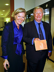 MISS VICTORIA DAVIS and SIR TERENCE CONRAN,  at a party in London on 13th September 1999.MWF 45