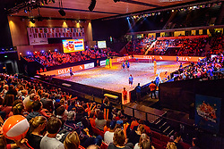 06-01-2019 NED: Dela Beach Open, Den Haag<br /> Netherlands lost the bronze medal from Russia 1-2 / Centercourt Sportcampus Zuiderpark, entertainment