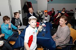 20180214 NED: BvdGF Kickboks clinic Remy Bonjasky: Almere<br />Kinderen deden actief mee aan de kickboks clinic van Remy Bonjasky. Diabetesquiz<br />&copy;2018-FotoHoogendoorn.nl / Pim Waslander