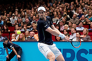 Andy Murray during the final of the Erste Bank Open at Wiener Stadthalle, Vienna, Austria.<br /> Picture by EXPA Pictures/Focus Images Ltd 07814482222<br /> 30/10/2016<br /> *** UK &amp; IRELAND ONLY ***<br /> EXPA-PUC-161030-0352.jpg