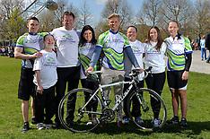 APR 10 2014 Jeff Brazier and Dawn Harper Cycle Ride
