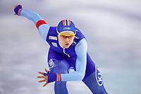BILDET INNGÅR IKKE I NOEN FASTAVTALER. ALL NEDLASTING BLIR FAKTURERT.<br /> <br /> Skøyter<br /> Foto: imago/Digitalsport<br /> NORWAY ONLY<br /> <br /> Eisschnelllauf Heerenveen 12.11.2017 Weltcup Saison 2017 / 2018 1000 m Herren Männer Allan Dahl Johansson (NOR) *** Speed \u200b\u200bskating Heerenveen 12 11 2017 World Cup season 2017 2018 1000 m Men Men Allan Dahl Johansson NOR