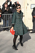 PARIS, FRANCE - MARCH 08:  Lili Allen arrives at the Chanel Ready to Wear Autumn/Winter 2011/2012 show during Paris Fashion Week at Grand Palais on March 8, 2011 in Paris, France.  (Photo by Tony Barson/WireImage)