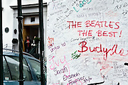 "London | April 7, 2010 | Thousands visit Abbey Road Studios in northwest London every year and leave a note at the outside walls of the venue. One reads ""The Beatles The Best"" 