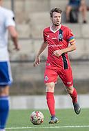 Nikolaj S. Hansen (FC Helsingør) under kampen i 2. Division mellem HIK og FC Helsingør den 30. august 2019 i Gentofte Sportspark (Foto: Claus Birch).