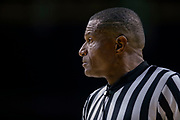 SOUTH BEND, IN - NOVEMBER 08: NCAA basketball referee Ted Valentine is seen during the Notre Dame Fighting Irish and Chicago State Cougars game at Purcell Pavilion on November 8, 2018 in South Bend, Indiana. (Photo by Michael Hickey/Getty Images) *** Local Caption *** Ted Valentine