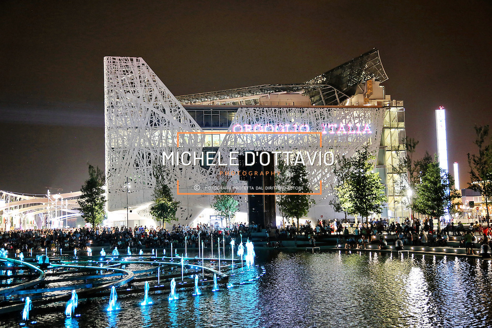 Palazzo Italia  World Expo 2015 Milano