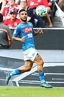 Lorenzo Insigne Napoli<br /> Monaco 02-08-2017  Stadio Allianz Arena<br /> Football Audi Cup 2017 <br /> Bayern Monaco - Napoli<br /> Foto Cesare Purini / Insidefoto