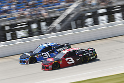 July 1, 2018 - Joliet, Illinois, United States of America - Austin Dillon (3) battles for position during the Overton's 400 at Chicagoland Speedway in Joliet, Illinois  (Credit Image: © Justin R. Noe Asp Inc/ASP via ZUMA Wire)