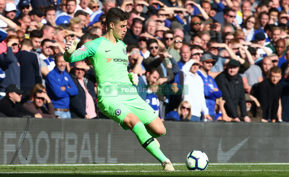 October 20, 2018 - London, England, United Kingdom - London, England - October 20: 2018.Chelsea's Kepa Arrizabalaga.during Premiership League between Chelsea and Manchester United at Stamford Bridge stadium , London, England on 20 Oct 2018. (Credit Image: © Action Foto Sport/NurPhoto via ZUMA Press)
