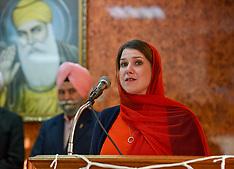 Jo Swinson visits Sikh Temple, Glasgow, 14 November 2019