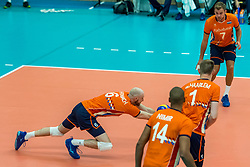 08-09-2018 NED: Netherlands - Argentina, Ede<br /> Second match of Gelderland Cup / Jasper Diefenbach #6 of Netherlands