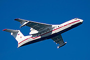 Russian Beriev-200 fire fighting plane photographed in Israel December 2010