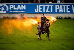 Opening ceremony, Stunt team Mario Luraschi<br /> CHIO Aachen 2019<br /> Weltfest des Pferdesports<br /> © Hippo Foto - Dirk Caremans<br /> Opening ceremony, Stunt team Mario Luraschi