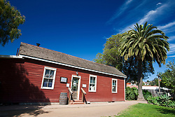 Exterior of the Mason Street School, Old Town San Diego, California, United States of America