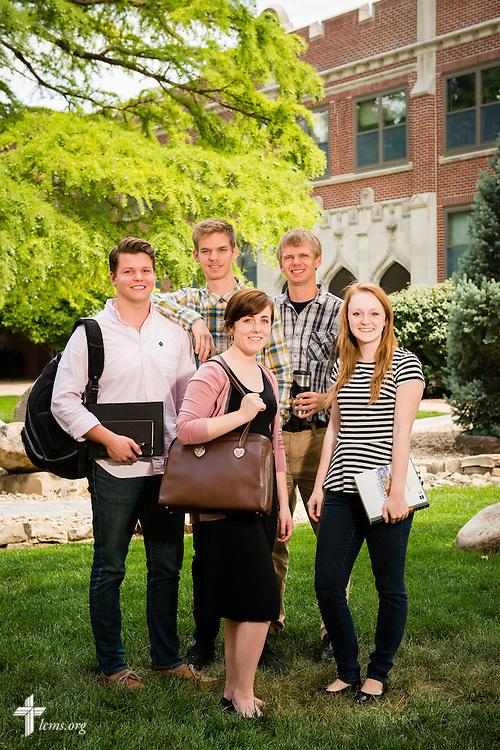 A portrait of students on Tuesday, July 29, 2014, at Concordia University, Nebraska, in Seward, Neb. LCMS Communications/Erik M. Lunsford