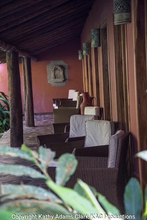 Hacienda la Isla, a small boutique hotel, near Sarapaqui, Costa Rica.