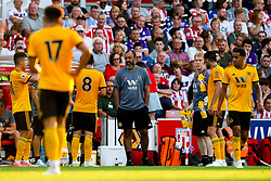 Wolverhampton Wanderers manager Nuno - Mandatory by-line: Robbie Stephenson/JMP - 25/07/2018 - FOOTBALL - Bet365 Stadium - Stoke-on-Trent, England - Stoke City v Wolverhampton Wanderers - Pre-season friendly
