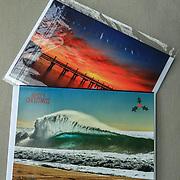Sailfish and North Narrabeen Pool Xmas Card