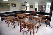 Edwardian school classroom, Museum of East Anglian Life, Stowmarket, Suffolk