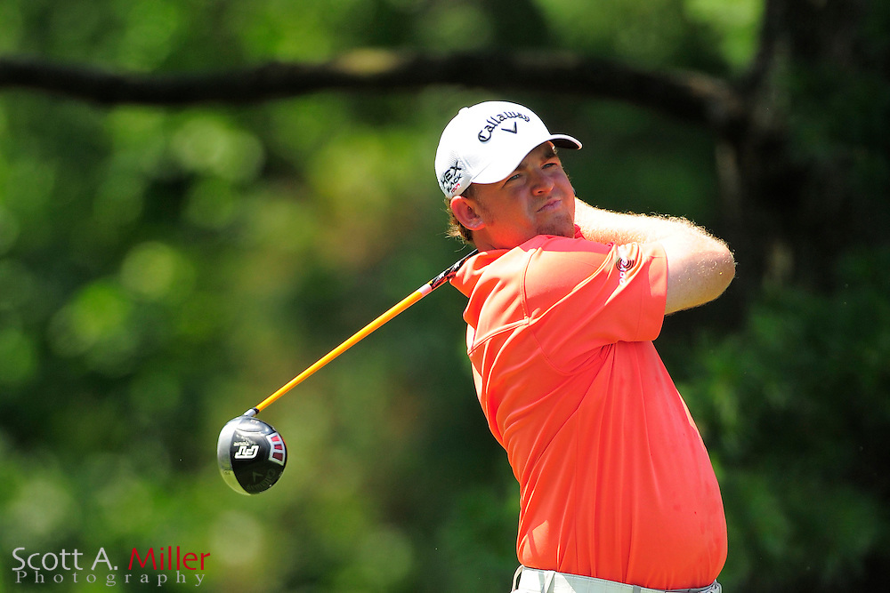 J.B. Holmes during the third round of the AT&T National at Congressional Country Club on June 30, 2012 in Bethesda, Maryland. ..©2012 Scott A. Miller