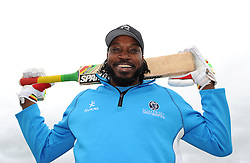 Chris Gayle of Somerset - Photo mandatory by-line: Harry Trump/JMP - Mobile: 07966 386802 - 31/05/15 - SPORT - CRICKET - Natwest T20 Blast - Somerset v Kent- The County Ground, Taunton, England.