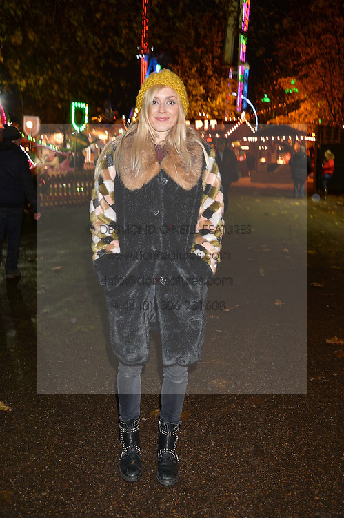 FEARNE COTTON at the Hyde Park Winter Wonderland - VIP Preview Night, Hyde Park, London on 17th November 2016.