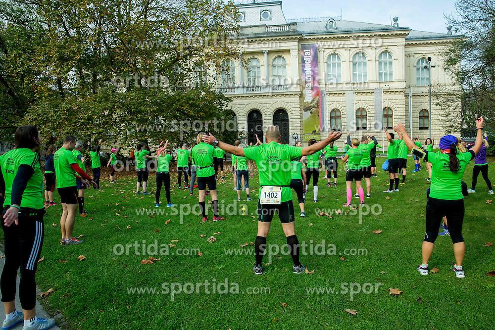 Adidas sola teka during 19th Ljubljana Marathon 2014 on October 26, 2014 in Ljubljana, Slovenia. Photo by Vid Ponikvar / Sportida.com