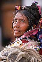 Portrait of a Ladakhi woman