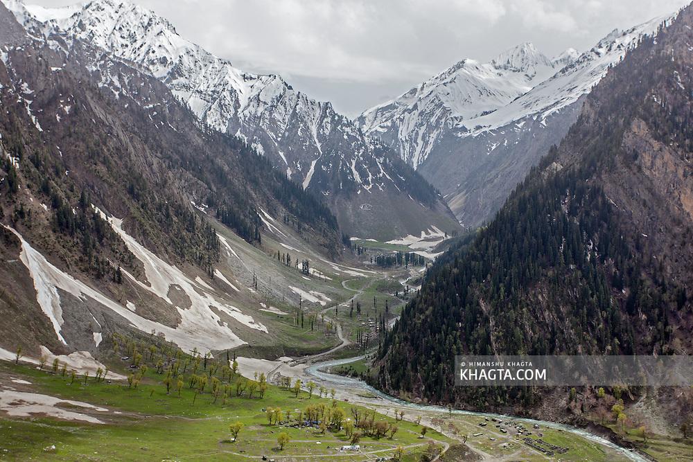 Baltal, Kashmir, India