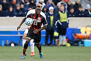 15 December 2013: Maryland's Schillo Tshuma (ZIM). The University of Maryland Terripans played the University of Notre Dame Fighting Irish at PPL Park in Chester, Pennsylvania in a 2013 NCAA Division I Men's College Cup championship match. Notre Dame won the game 2-1.
