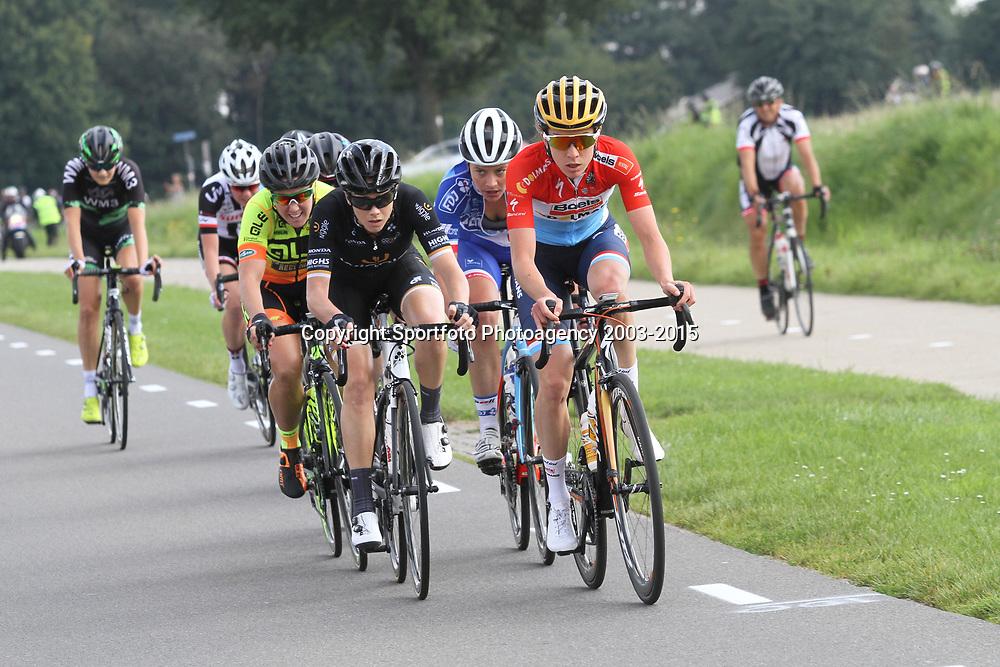 03-09-2017: Wielrennen: Boels Ladies Tour: Sittard: Christine Majerus; Amy Cure