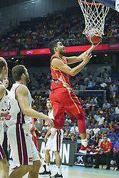 September 17, 2018 - Madrid, Spain - Jaime Fermandez of Spain in action  during the 2019 FIBA Basketball World Cup qualification match between Spain and Latvia at WiZink Center in Madrid, Spain, 17 September 2018 Photo: Oscar Gonzalez/NurPhoto  (Credit Image: © Oscar Gonzalez/NurPhoto/ZUMA Press)