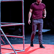 Tall Order TEDx Seattle 2018. Colin MacDonald (parkour visions). Photo by Alabastro Photography.