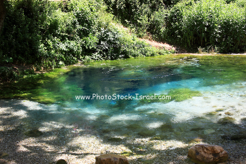Albania, Durres, The Blue Eye water spring