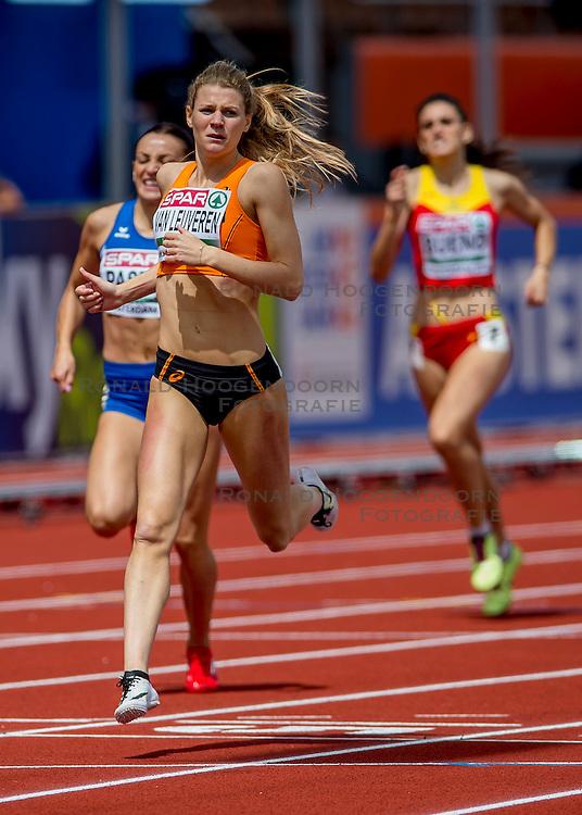 06-07-2016 NED: European Athletics Championships, Amsterdam<br /> Nicky van Leuveren NED