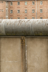 Perimeter wall, HMP Newport, Isle of Wight