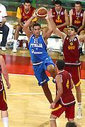 DESCRIZIONE : Firenze I&deg; Torneo Nelson Mandela Forum Italia Macedonia<br /> GIOCATORE : Pietro Aradori<br /> SQUADRA : Nazionale Italiana Uomini <br /> EVENTO : I&deg; Torneo Nelson Mandela Forum Italia Macedonia<br /> GARA : Italia Macedonia<br /> DATA : 16/07/2010 <br /> CATEGORIA : passaggio<br /> SPORT : Pallacanestro <br /> AUTORE : Agenzia Ciamillo-Castoria/GiulioCiamillo<br /> Galleria : Fip Nazionali 2010